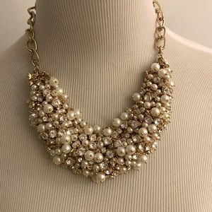 Talbots pearl and sparkle necklace.